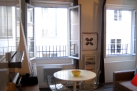 Paris Vacation Apartment Rentals, #176PAR: 1 bedroom, 1 bath, sleeps 4