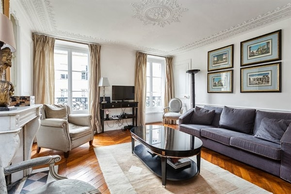 Good 4 ème   Le Marais, Le Georges: Paris Apartment #211dParis