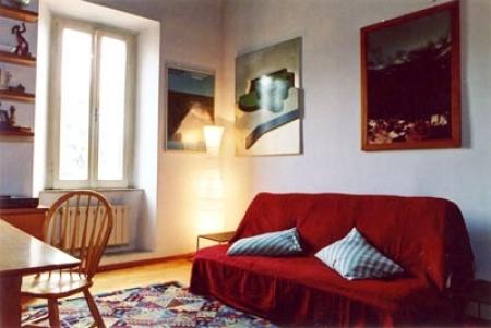 Rome vacation rental 1 bedroom trastevere apartment rentals in trastevere via delle mantellate rome apartment 242 sciox Gallery