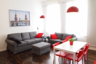 Berlin Vacation Apartment Rentals, #119BER: 1 Schlafzimmer, 1 Bad, platz 4
