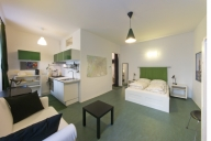 Berlin Vacation Apartment Rentals, #119BERc: Studio-Schlafzimmer, 1 Bad, platz 4