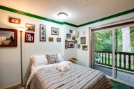 City of Glacier Vacation Apartment Rentals, #102nMapleFalls : studio bedroom, 1 bath, sleeps 2
