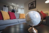 Manchester Vacation Apartment Rentals, #101aManchester: 2 camera, 1 bagno, Posti letto 4