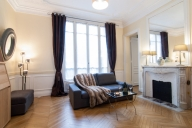Paris Vacation Apartment Rentals, #163jPAR: 1 Schlafzimmer, 1 Bad, platz 4