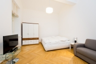 Praga Vacation Apartment Rentals, #106dPrague: Dormitorio Estudio, 1 Bano, huèspedes 4